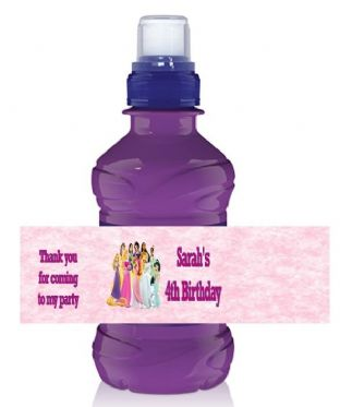 Disney Princess Bottle Label Wrapper.